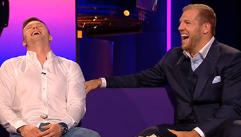 Friday Funnies - James Haskell's wasp related banter with Chris Ashton