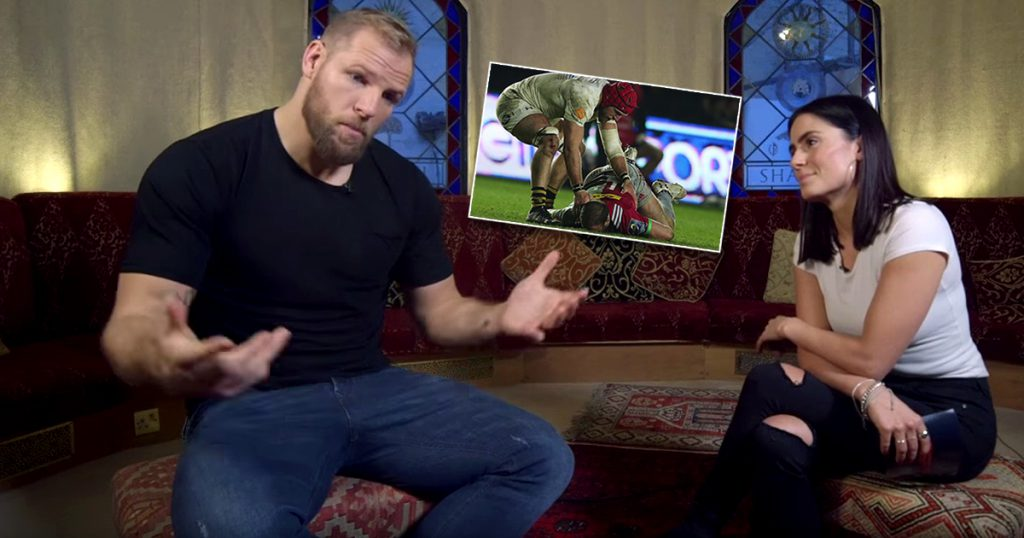 James Haskell gives his side of the story after that red card and ban