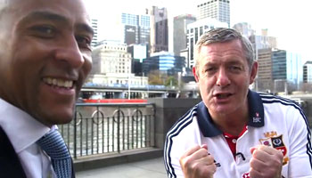 Second Test preview with George Gregan and Gavin Hastings