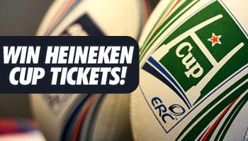 WIN Heineken Cup tickets for the opening weekend!