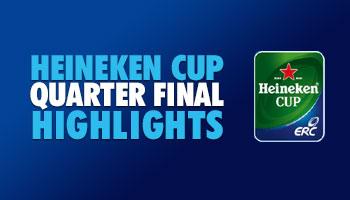 Heineken Cup 2014 Quarter Final Highlights