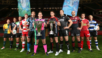 Cardiff launch of the 2013/2014 Heineken Cup and Amlin Challenge Cup