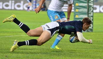 Scotland grind out victory with late try against Italy in Turin