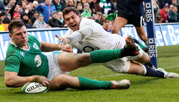 Ireland stay on track with victory over England in Dublin