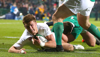 Slade and Wade score as England Saxons defeat Irish Wolfhounds in Cork