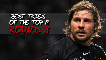 Best tries of the Top 14 - Round 3