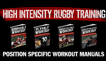 High Intensity Rugby Training Returns - Get 60% Off Until Sunday Midnight GMT