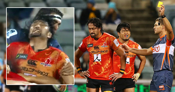 Hitoshi Ono suspended for reverse headbutt against the Brumbies