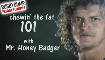 Friday Funnies - The Honey Badger's 101 in Aussie Lingo
