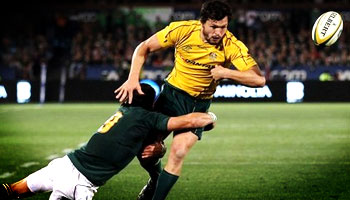 Francois Hougaard's great try saving tackle on Adam Ashley-Cooper