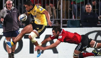 Brilliant individual effort decides Crusaders vs Hurricanes classic in Christchurch