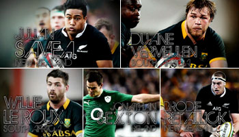 Five stars nominated for IRB World Rugby Player of the Year 2014
