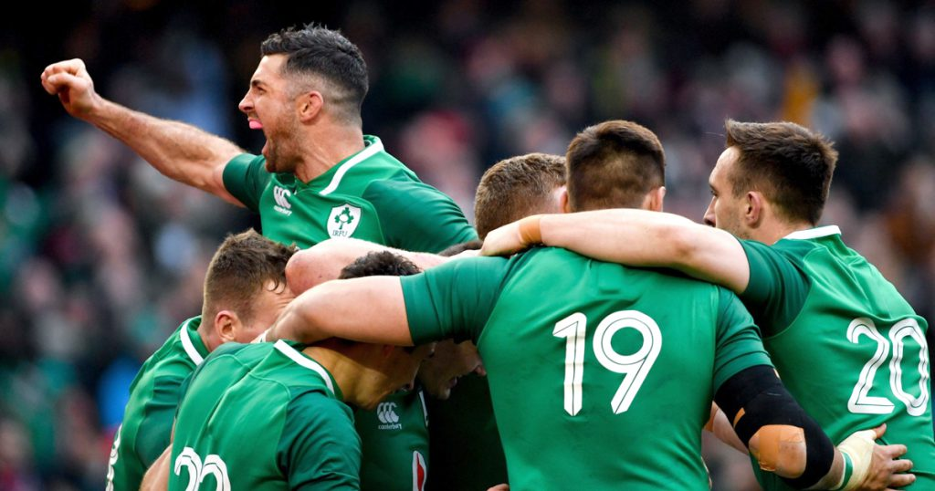 Ireland are now the second best rugby team in the world