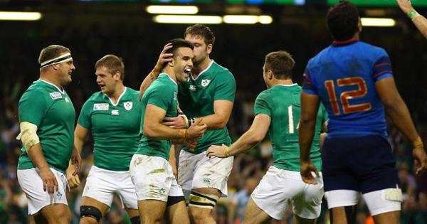 Ireland victorious over France but lose key men for Quarter Final
