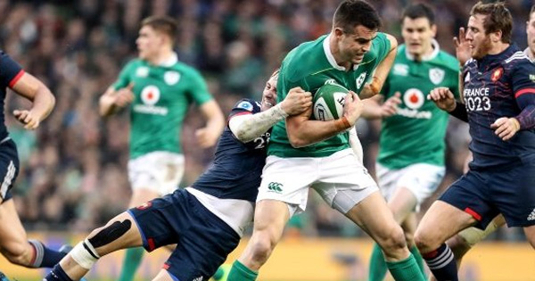 Ireland get past France in Dublin round two battle
