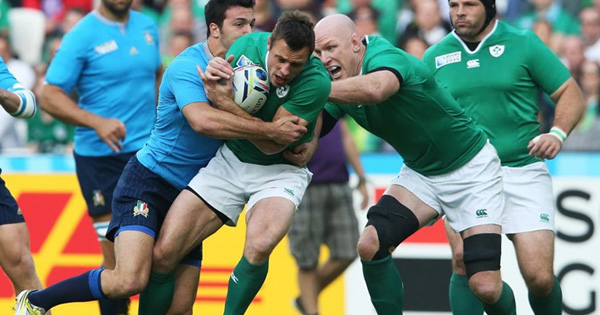 Ireland edge Italy to secure quarter final qualification