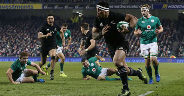 New Zealand avenge previous loss with bruising win over Ireland