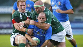 Ronan O'Gara controversial try vs Italy