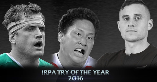 IRPA Try of the Year 2016 Nominees announced