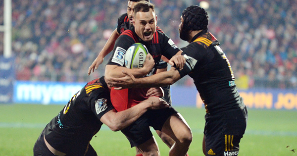 Crusaders through to another Super Rugby final after beating the Chiefs