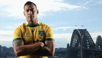 Israel Folau's 2015 Video Tribute as he agrees to new three year ARU contract