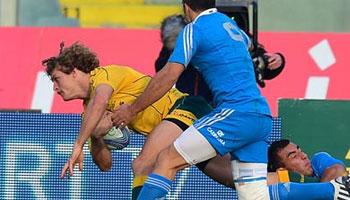 Italy vs Australia Highlights - November 2012
