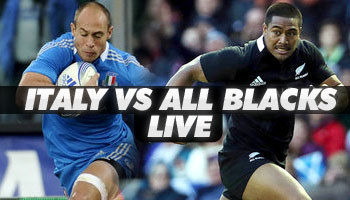 Italy vs New Zealand - Live Stream