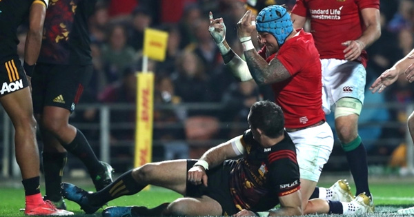 British & Irish Lions thump the Chiefs with commanding performance