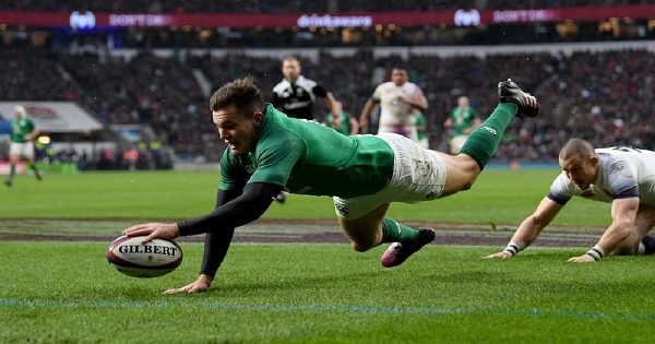 Jacob Stockdale sets Six Nations record as Ireland take Grand Slam
