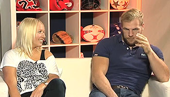James Haskell discusses mental health and fitness in sport