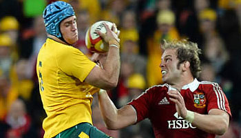 James Horwill cleared after alleged stamp on Alun-Wyn Jones in first Test