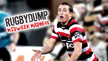 Midweek Madness - James Semple throws up after big tackle