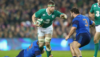 Ireland hang on against France to stay on track for title defence