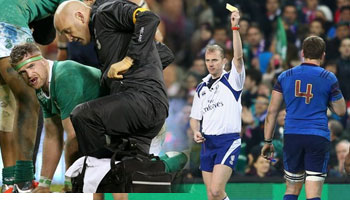 Jamie Heaslip accepts cited Pascal Pape's apology but is out injured