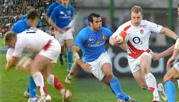 Jamie Noon great hit against Italy