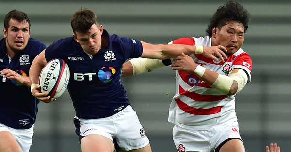 Scotland maintain winning streak over Japan in first Test on tour