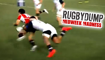 Midweek Madness - Japanese player loses the ball over the tryline