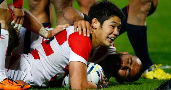 Japan win three matches but bow out of Rugby World Cup 2015