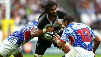 Barbarians edge Samoa in physical battle at the Olympic Stadium