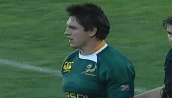 Jaque Fourie broken cheekbone on Springbok return