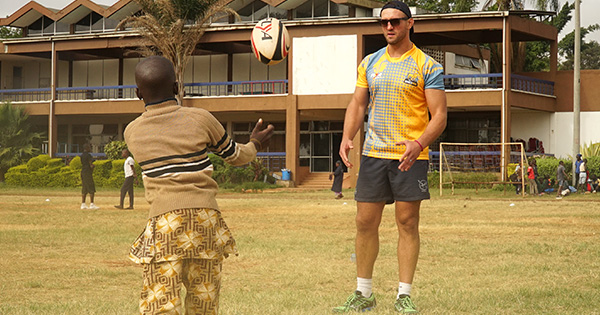 Jacques Burger on coaching rugby in Africa with Bhubesi Pride
