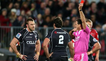Jean Deysel suspended for three weeks for stamp against Crusaders