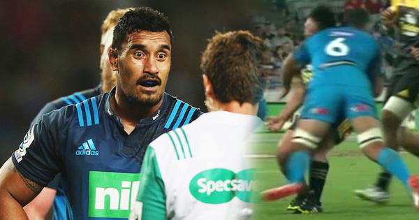 Jerome Kaino issued warning for dangerous off the ball tackle