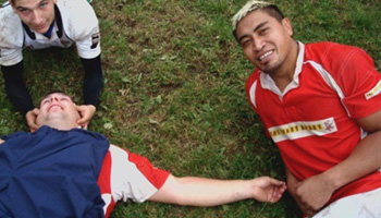 The day Jerry Collins played for Barnstaple Rugby Football Club's 2nd XV