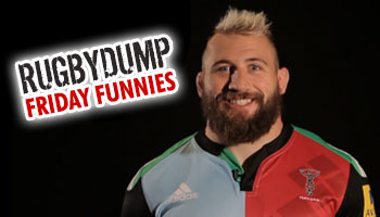 Friday Funnies - Joe Marler talks about the team bus and his unusual pets