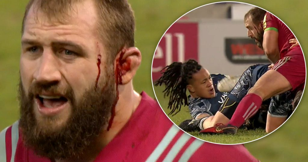 Joe Marler and TJ Ioane both suspended after double altercation