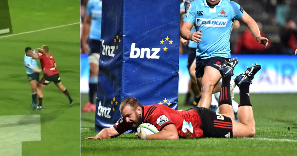 Joe Moody elbow that sparked biggest comeback in Super Rugby history