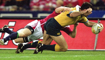 A look back at the second Wallabies vs Lions Test in 2001