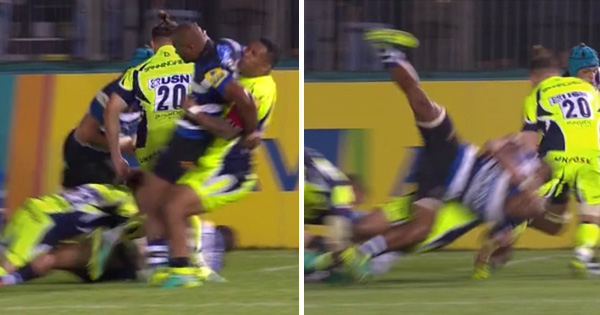 Johnny Leota banned for dangerous judo throw on Aled Brew