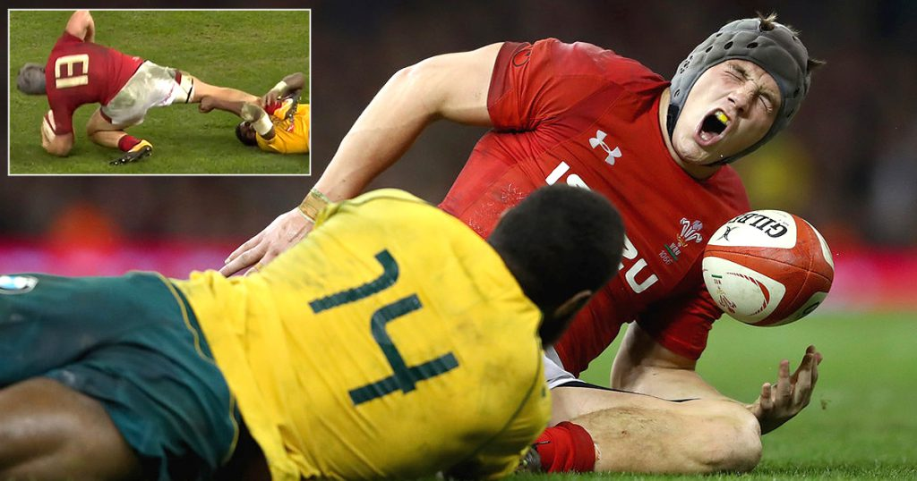 The Jonathan Davies blow that's ruled him out of the Six Nations